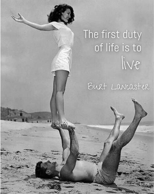 Burt Lancster (quote)