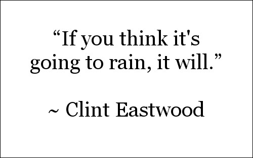 Quote by Clint Eastwood