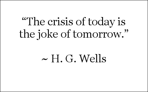 Quote by H.G. Wells