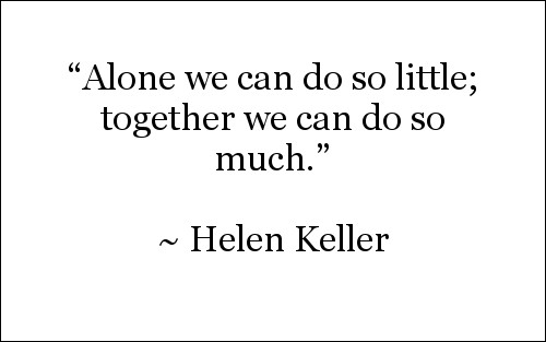 Quote by Helen Keller