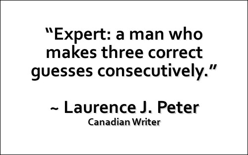 Laurence Peter Quote