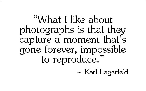 Quote by Karl Lagerfeld
