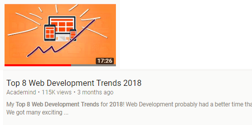 Top 8 Web Development Trends 2018
