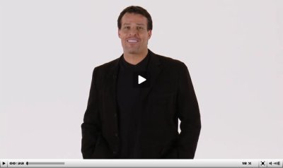 Tony Robbins inspires