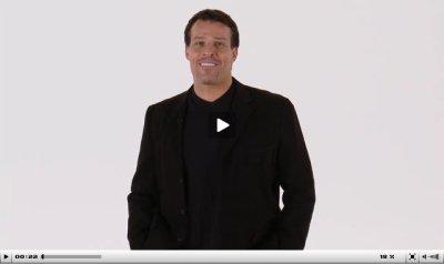 Tony Robbins inspires